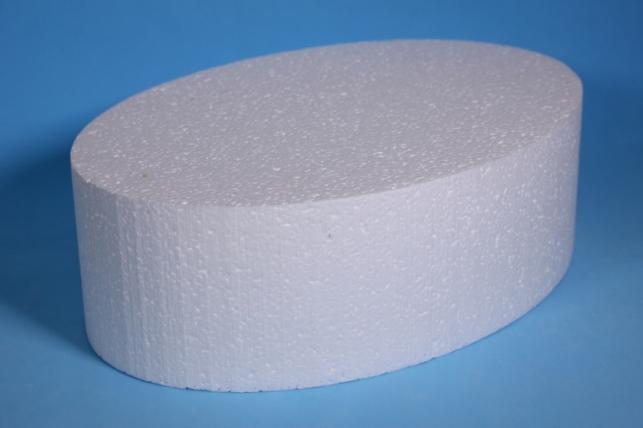 Пенопластовая форма - Овал 29*20*9см (Код 07-Ц)