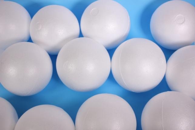 Пенопластовая форма - Шары 15 см (12 шт в уп) - код 2753
