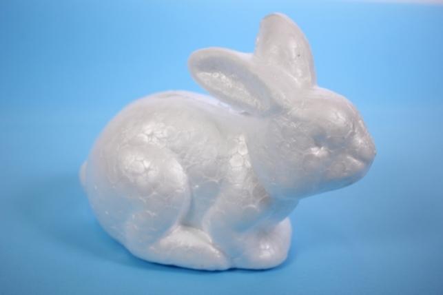 Пенопластовая форма - Заяц 15х9см (1шт)