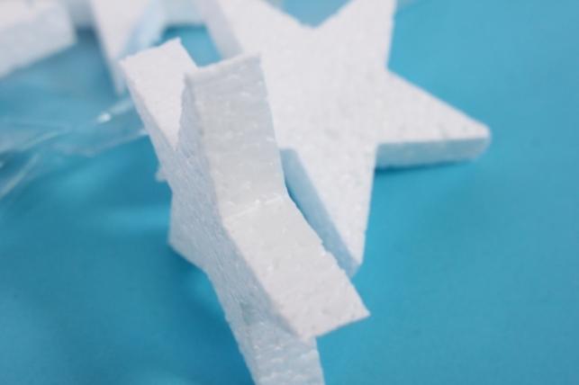 пенопластовые формы - 04-зв звезда, арт. зв-04 5x1см