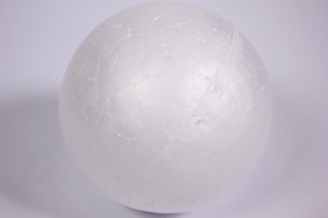 Пенопластовые формы - Шар пенопласт 8см  (1шт)