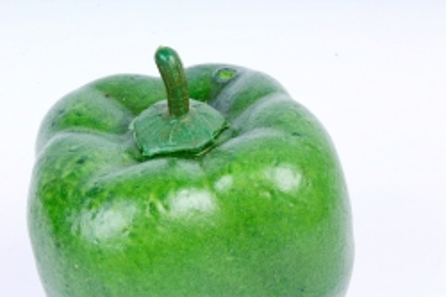 Перец болгарский зелёный