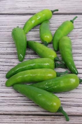 Перец острый зеленый 7см (10шт)