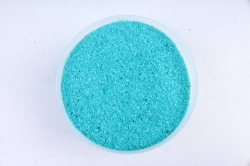 Песок цветной 380гр бирюза (кварц. крошка, фр. 0,5-1 мм) 301527038102