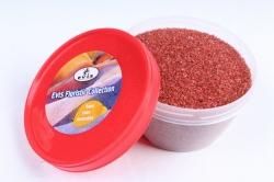 Песок цветной 380гр бордовый (кварцевая крошка, фракция 0,5-1 мм) 301527038103