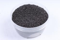 Песок цветной 380гр черный (кварцевая крошка, фракция 0,5-1 мм) 301527038120
