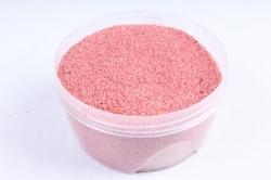 Песок цветной 380гр розовый (кварцевая крошка, фракция 0,5-1 мм)301527038111