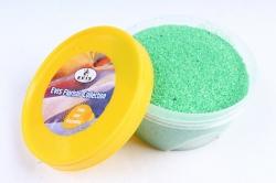 Песок цветной 380гр салатовый (кварцевая крошка, фракция 0,5-1 мм)301527038113