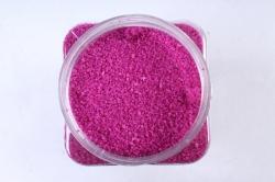 Песок декоративный в тубе (600гр) (фр.20-30) бордовый KR-46882 (И)