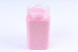 Песок декоративный в тубе (600гр) (фр.20-30) розовый KR-46878 (И)