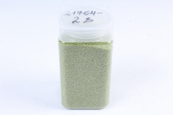 Песок декоративный в тубе (600гр) (фр.20-30) салатовый KR-46875 (И)
