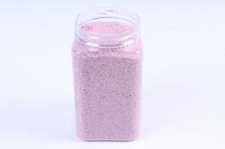 Песок декоративный в тубе (600гр) (фр.20-30) темно розовый KR-46881 (И)