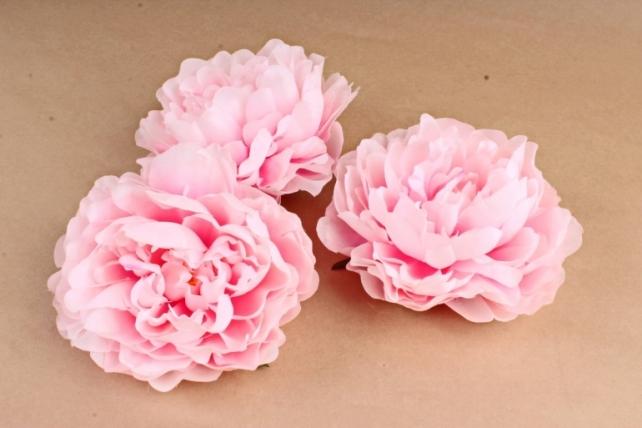 Пион   цвет нежно-розовый 972 (3 шт в уп) SUN406