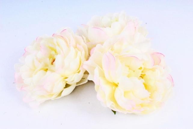 Пион 12 см цвет розовая ваниль 2010 (3 шт в уп) SUN406