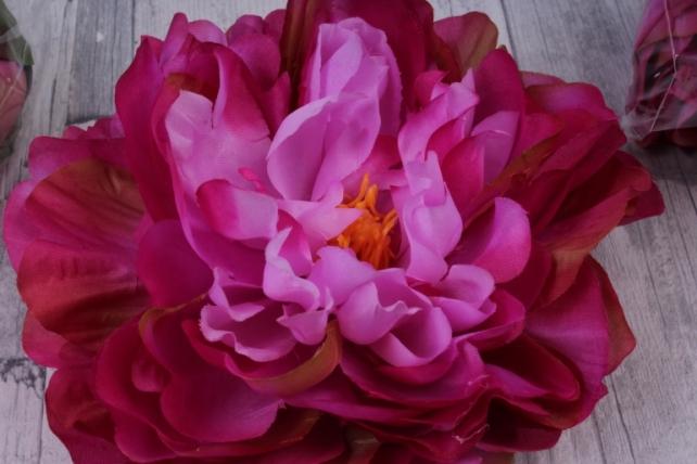 пион 12 см цвет малиновый 1624 (3 шт в уп) sun406