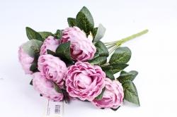 Пионы Букет  Пепельно-розовый