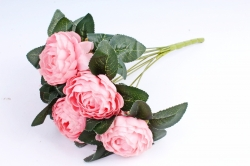 Пионы Букет  Розовый