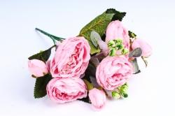 Пионы Ретро низкие розовые