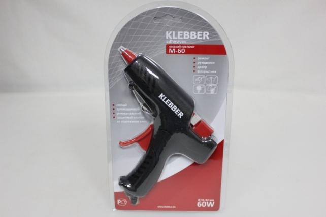 Пистолет клеевой KLEBBER M-60 (1,2 см.)