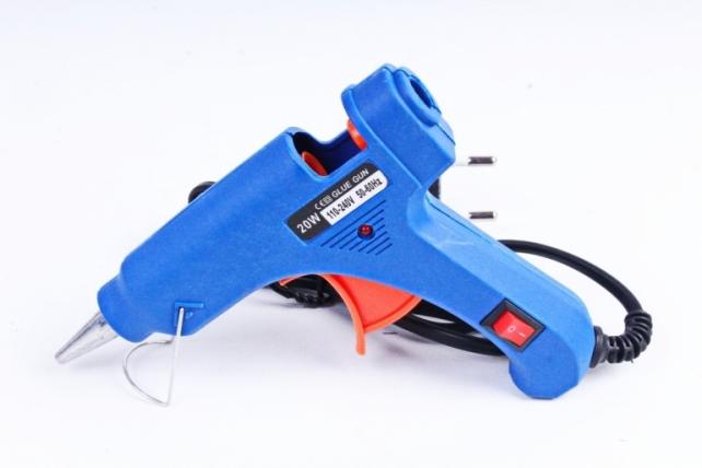 Пистолет клеевой  маленький (0,8см) JH-01-2