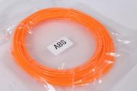 Пластик для 3D ручки (ABS) - оранжевый 10м*1,75мм