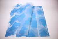 ПленкаматоваяГазеталист60*60см.(20л/пач)голубой