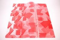 ПленкаматоваяГазеталист60*60см.(20л/пач)красный