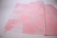 ПленкаматоваяГазеталист60*60см.(20л/пач)розовый
