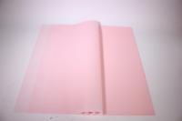 Пленкаматоваяоднотоннаялист60*60см.(20л/пач)розовый