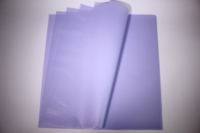 Пленкаматоваяоднотоннаялист60*60см.(20л/пач)сиреневый