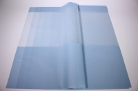 Пленкаматоваяполоскилист60*60см.(20л/пач)голубой