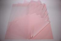 Пленкаматоваяполоскилист60*60см.(20л/пач)св.розовый