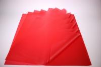 Пленкаоднотоннаялист60*60см.(20л/пач)красный