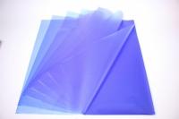 Пленкаоднотоннаялист60*60см.(20л/пач)синий