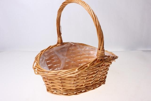 Плетеные корзины - 131401 Корзинка (21х18х10h)