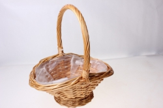 Плетеные корзины - 131601 Корзинка (21х16х9h)