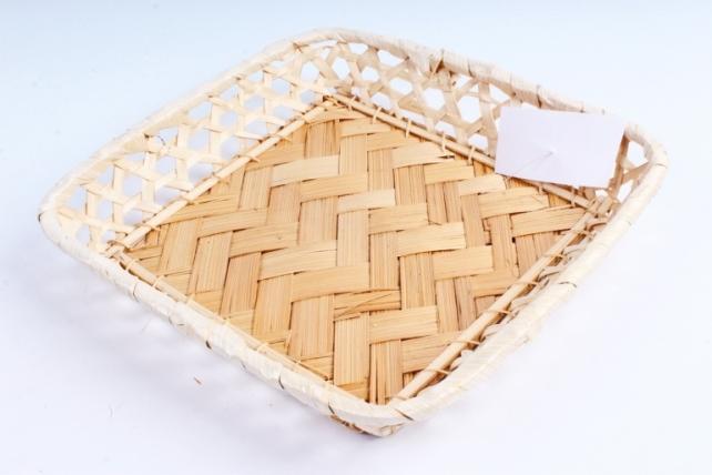 Плошка плетеная ( бамбук) - Квадрат