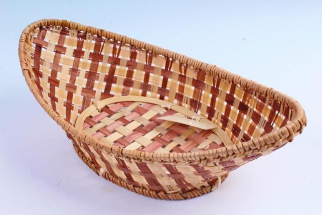 Плошка плетеная ( бамбук) - Ладья