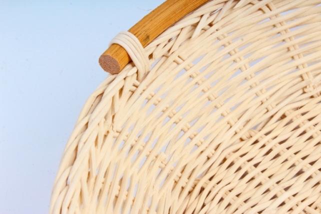 Плошка плетеная ( бамбук) - Овал большой