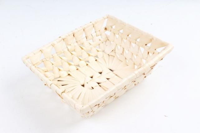 Плошка плетеная ( бамбук) - Прямоугольник