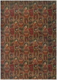 Подарочная Бумага - КРАФТ  Совы 0,7х1м в листах (10 листов) М