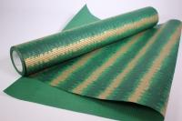 Подарочная Бумага рифленая в рулоне - Кора зеленая 50см*10м 131234-50/10,,344200