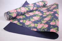 Подарочная Бумага рифленая в рулоне - Розово-синяя 50см*10м 131210-50/10,,289834