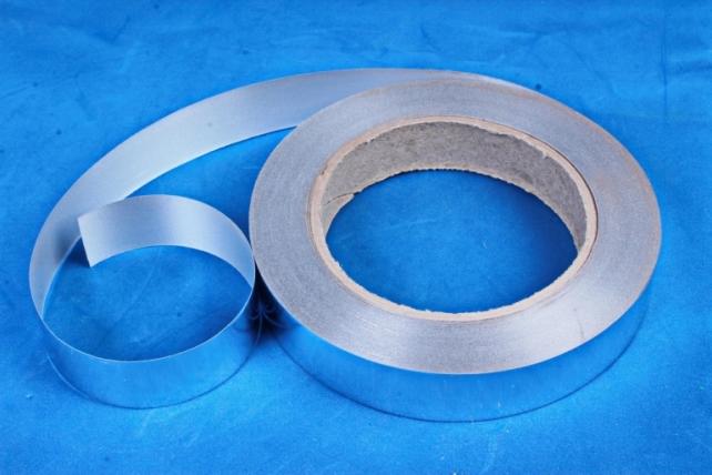 Подарочная Декоративная Лента металлизированная - 2х50у Серебро М210