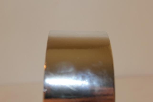 Подарочная Декоративная Лента металлизированная - 5х50у - Серебро М544