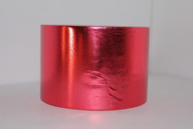 Подарочная Декоративная Лента металлизированная - 8х50у - Красная М848