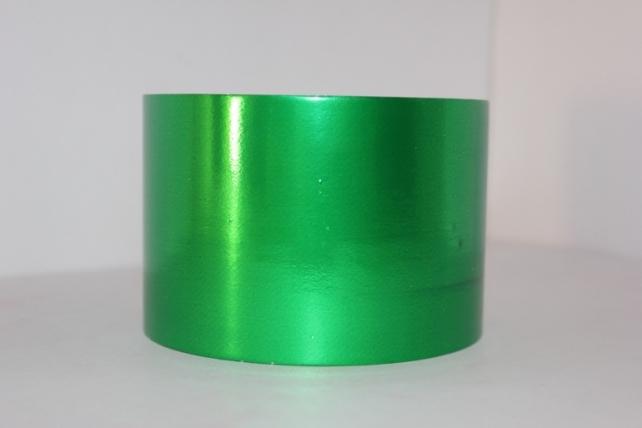 Подарочная Декоративная Лента металлизированная - 8х50у - Зелёная М849