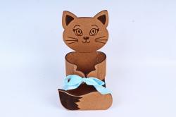 """Подарочная коробка """"Котёнок"""" ( МДФ ПУ471-00-3707М"""