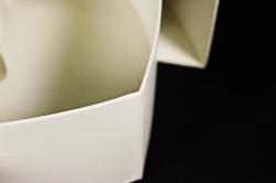 Подарочная коробка одиночная - Сердце одиночное трансформер шампань 32*26*11см К214