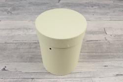 Подарочная коробка одиночная 1шт - Цилиндр лимон   В53